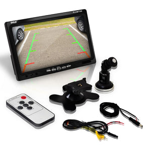 Car Backup Camera & Monitor Display Kit PLCM7700