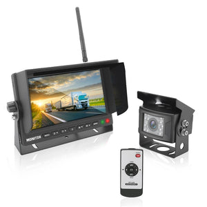 Backup Camera & Monitor (for Bus/Truck) PLCMTR78WIR