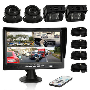 Backup Cameras & Monitor (for Bus/Truck) PLCMTRS77