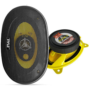 4 x 6 inch Component Car Speakers PLG46.3
