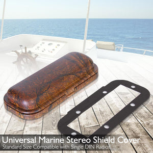 Marine Stereo Radio Shield Cover PLMRDKC1