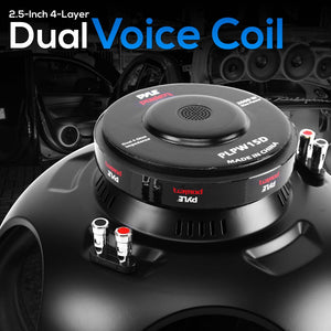 15'' Car Subwoofer DVC 4-Ohm PLPW15D