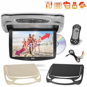 13.3'' Car Overhead Monitor with CD/DVD PLRD146