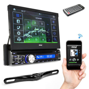 Bluetooth Car Receiver & Backup Camera PLT85BTCM