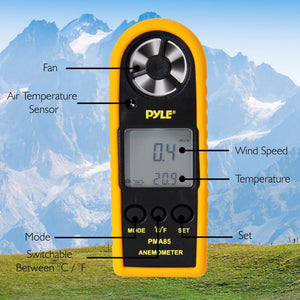 Digital Anemometer & Thermomet PMA85