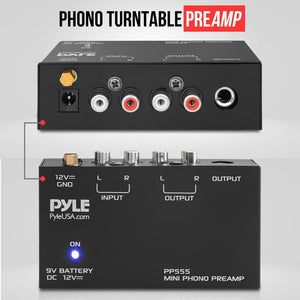 Phono Turntable Pre-Amplifier PP555