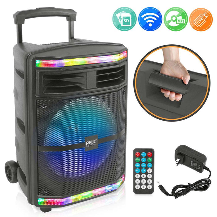 Wireless & Portable Bluetooth PA Speaker PPHP1044B
