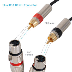 Dual 5ft. Professional Audio Link Cable  PPRCX05