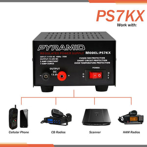 5 Amp Hobbyist Bench Power Supply PS7KX