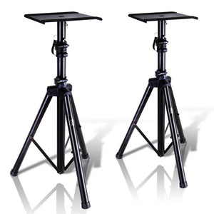 Dual Studio Monitor Speaker Stand Mounts PSTND32