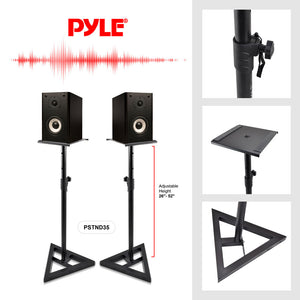 Pro Audio Monitor Speaker Stands PSTND35