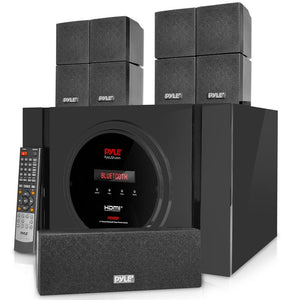 Bluetooth Home Theater Speaker System PT589BT