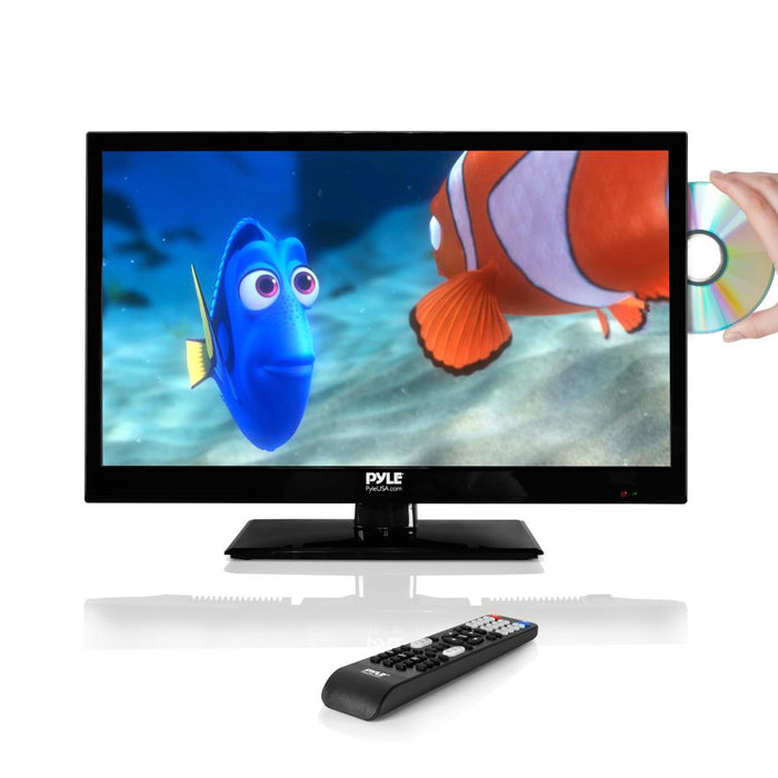21.5'' LED TV with CD/DVD Player PTVDLED22