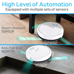 Smart Robot Vacuum Cleaner PUCRC25