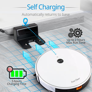 WiFi Robot Vacuum Cleaner PUCRC455