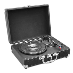 Portable Record Player Turntable PVTT2UBK