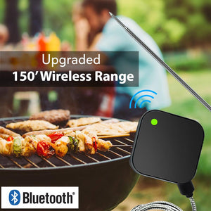 Bluetooth Wireless BBQ Thermometer PWIRBBQ40.9