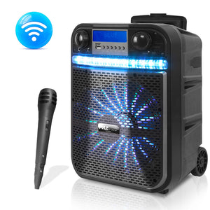 Karaoke Party PA Speaker & Mic System PWMA337BT