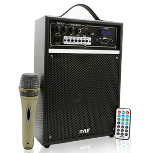 Bluetooth Portable PA Speaker System PWMAB250BK