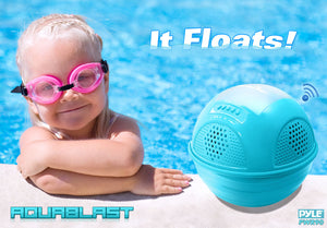 Aqua Blast Bluetooth Floating Speaker PWR90DBK