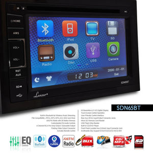 Bluetooth Headunit Receiver System SDN65BT