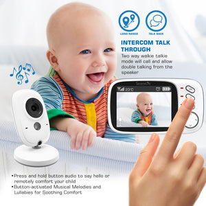 Wireless Video Baby Monitor System SLBCAM20