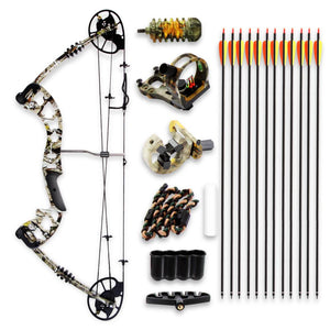 Compound Bow & Arrow Accessory Kit SLCOMB15ST
