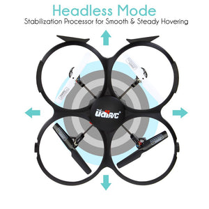 Drone Quad-Copter with HD Camera + Video SLDR18HD
