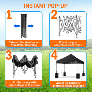 Tent Commercial Instant Shelter SLGZ10BA