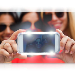 Lite-Me Selfie LED Lighted iPhone Case SLIP101GR