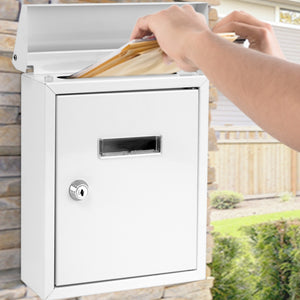 Wall Mount Locking Mailbox SLMAB01