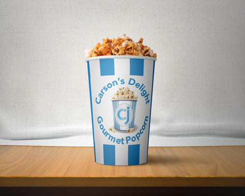 Parmesan Garlic Gourmet Pop Corn