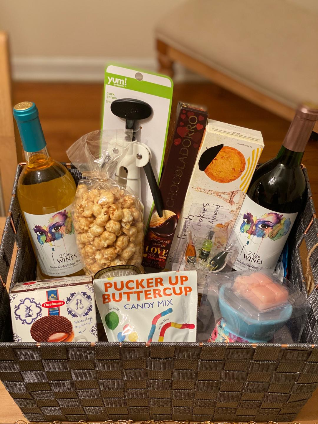 All occasion wine gift baskets