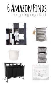 6 Amazon Finds for Getting Organized