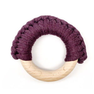 Phantom Wood Teething Ring - Late Night Luna