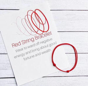 Red String of Fate Bracelet