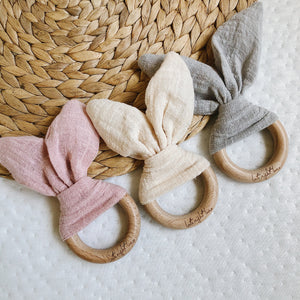 Rabbit Ear Teething Toys for baby