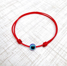 Evil Eye Adjustable Adult Bracelet