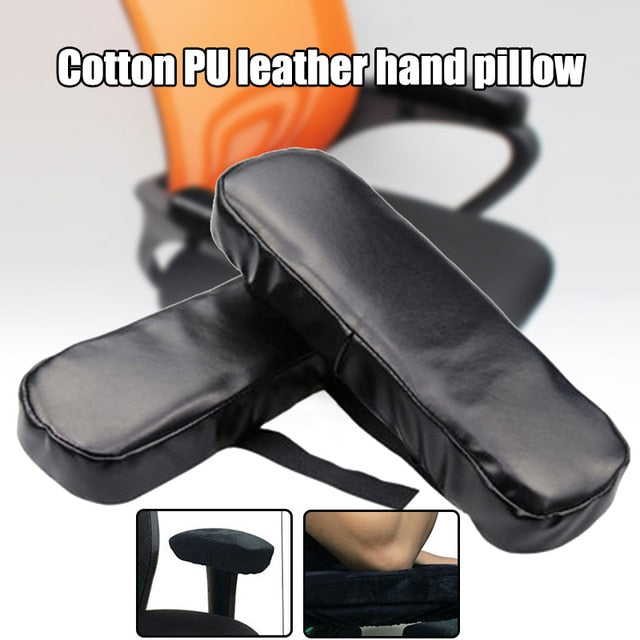 Wheel Chair Armrest Pad Cover Elbow Pain Relief Cushion Memory Foam Pu Leather Office Ac889 Free Small Gift Lovely Products Llc