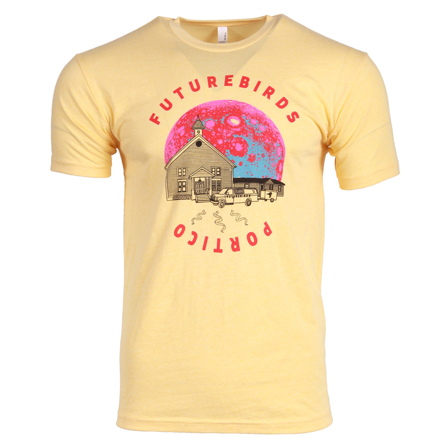 Portico T-shirt - Vintage Yellow
