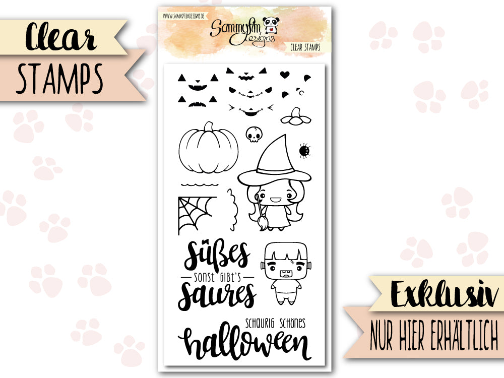 Clear Stamps ♥ Happy Halloween ♥