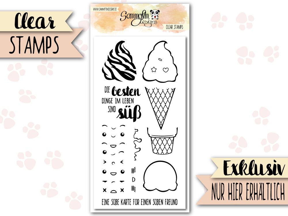 Clear Stamps ♥ Kawaii Eis ♥