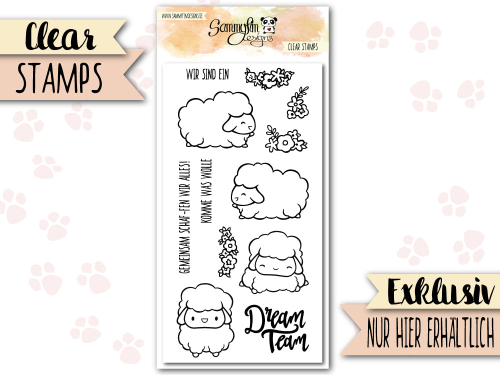 Clear Stamps ♥ Komme Was Wolle ♥