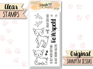 Clear Stamps ♥ Rehspekt ♥