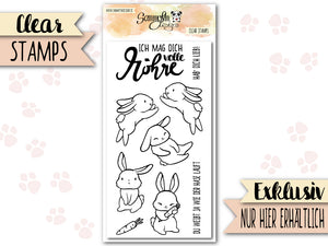 Clear Stamps ♥ Volle Möhre ♥