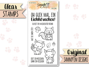 Clear Stamps ♥ Waldzauber ♥