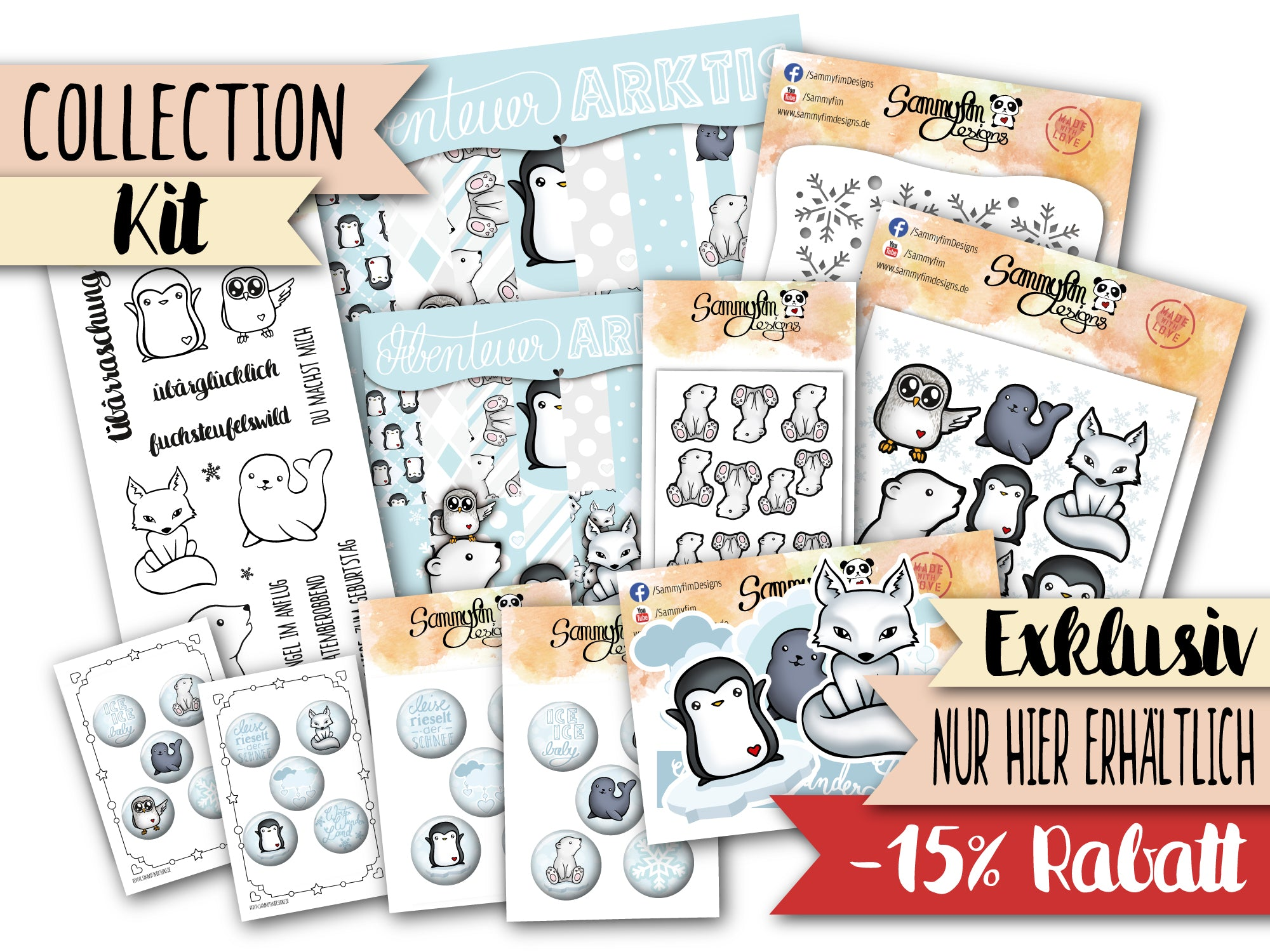 Collection Kit ♥ Abenteuer Arktis ♥
