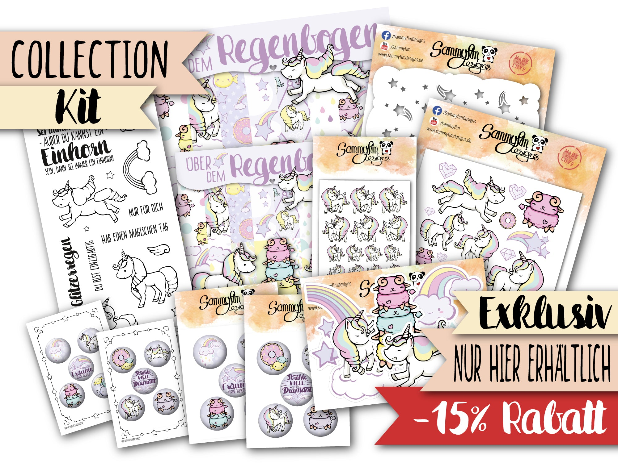 Collection Kit ♥ Über dem Regenbogen ♥
