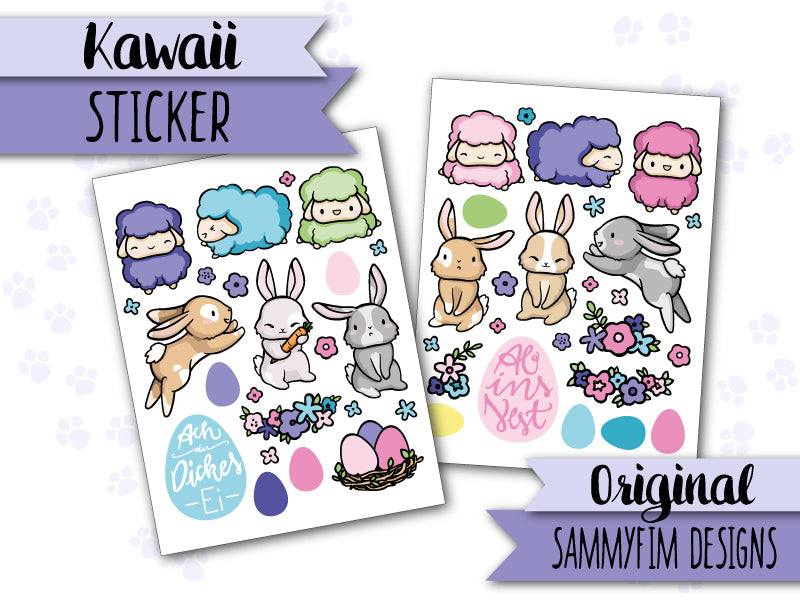 Sticker ♥ Ei Love Ostern ♥