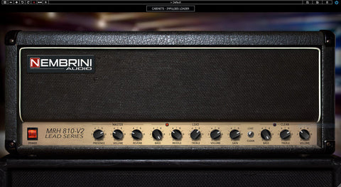 MRH810 V2 Lead Series Guitar Amplifier